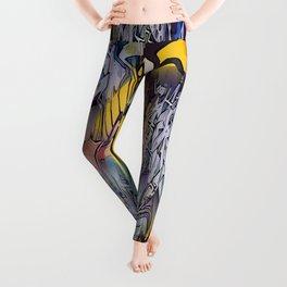 Cartoon Graffiti Leggings