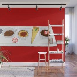 Café Gourmet Set Wall Mural