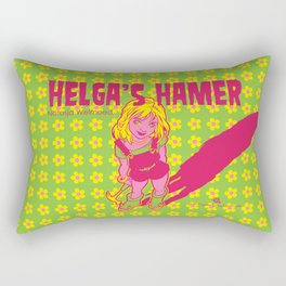 Helga's Hamer Rectangular Pillow