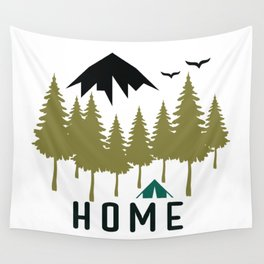 Wilderness Home Wall Tapestry