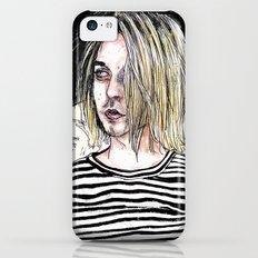 I'm not like them, but i can pretend. -  Kurt c iPhone 5c Slim Case