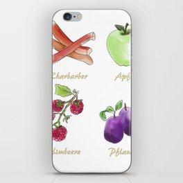 das Obst iPhone Skin