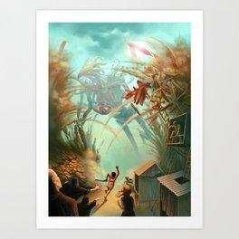 Giants and Healers Art Print