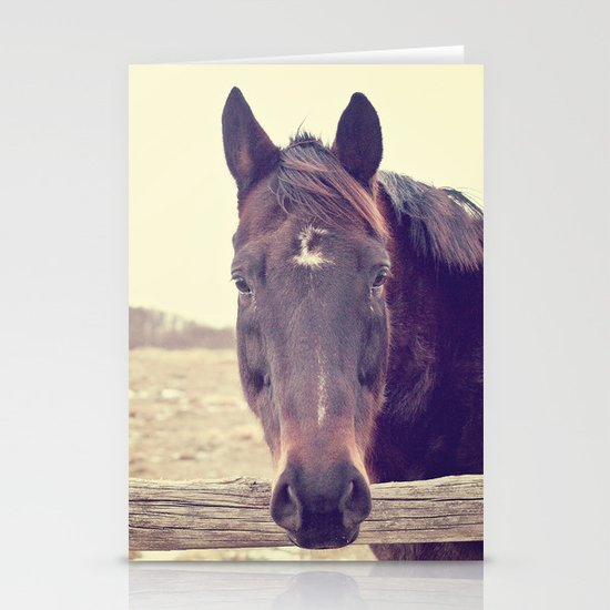 Hello Horse  Stationery Cards