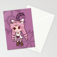Steampunk Chibimoon - Sailor Moon Stationery Cards