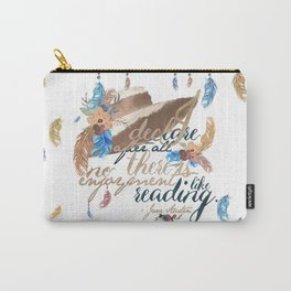 Jane Austen - No Enjoyment Like Reading Carry-All Pouch