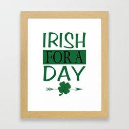 Ireland Dublin Gift Irish Catholic St.Patrick Framed Art Print