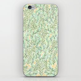 Green and Yellow Leaves iPhone Skin