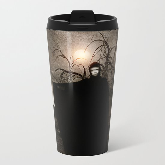 The Seventh Seal Metal Travel Mug