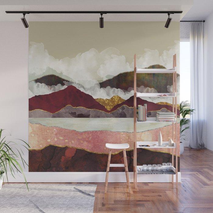 Melon Mountains Wall Mural