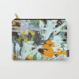 Abstract Country Garden Carry-All Pouch