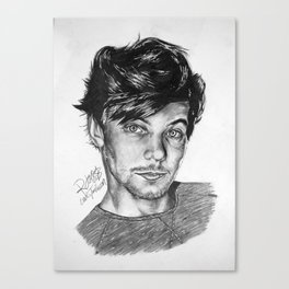 Louis Tommo Drawing Canvas Print