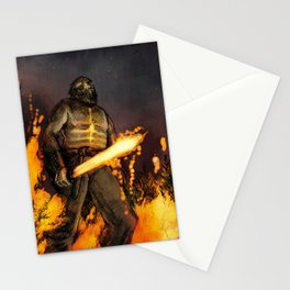 Fire Giant Stationery Cards