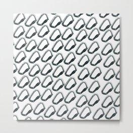 Carabiner Viton Metal Print