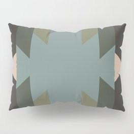 Green Star  - does it belong in the Forest or in the Space?? Pillow Sham