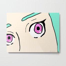 Eureka's Eyes - Eureka Seven Metal Print