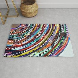 Color Vortex Rug
