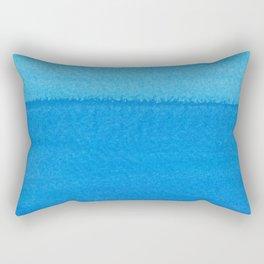Blue Ocean Up Close Rectangular Pillow