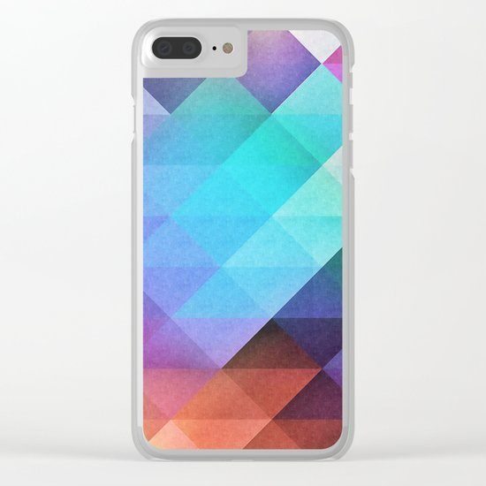 Pattern 12 Clear iPhone Case
