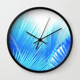 Winter Palm Wall Clock