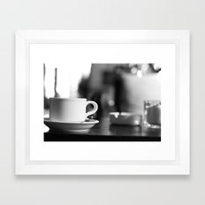 A Cup of Tea Framed Art Print