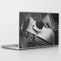 violin Laptop & iPad Skins featuring Violin by Jo Bekah Photography