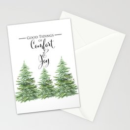 Comfort and Joy Stationery Cards