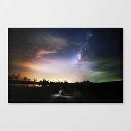 Student of Life Canvas Print