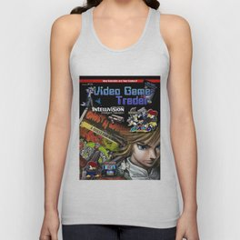 Video Game Trader #15 Cover Design Unisex Tank Top