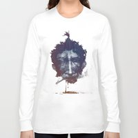 smoke Long Sleeve T-shirts featuring Smoke by tkaracan