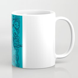 Blue Doodle Coffee Mug