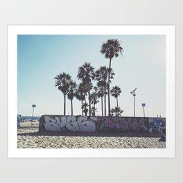 Palms x Walls Art Print