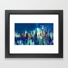 City Nights Framed Art Print