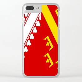 flag of alsace Clear iPhone Case