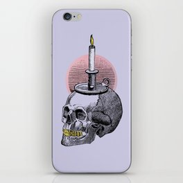 Lavender Cadaver iPhone Skin