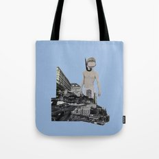 Dive in the city Tote Bag