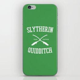 Hogwarts Quidditch Team: Slytherin iPhone Skin