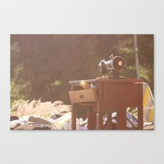the sewing kit Canvas Print
