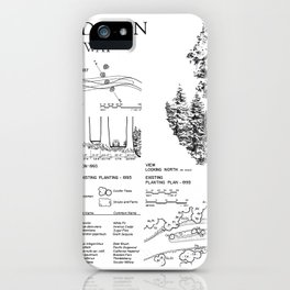 Four Guardsman General Highway - Generals Highway, Three Rivers, Tulare County, CA iPhone Case
