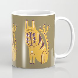 Electric Cat Coffee Mug