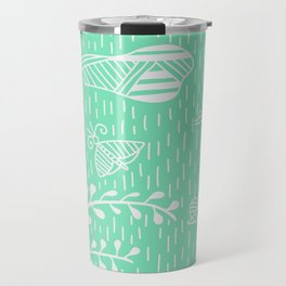 Carnival Glass Land Life Stripes No. 2 Travel Mug
