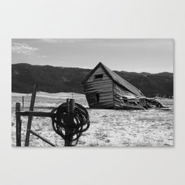 Old Barn (Idaho) Canvas Print