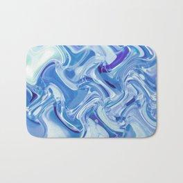 Swirling Glass Bath Mat
