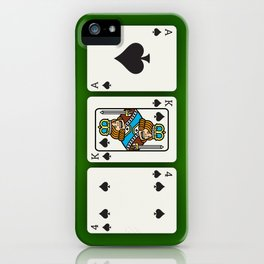 Four King Ace iPhone Case