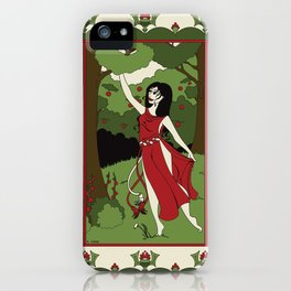 Divine Dames: Vesna iPhone Case