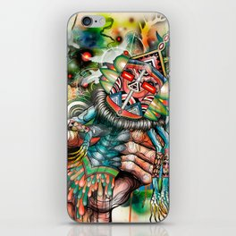Architect of Prehysterical Myth iPhone Skin
