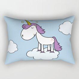 Adorable unicorn Rectangular Pillow