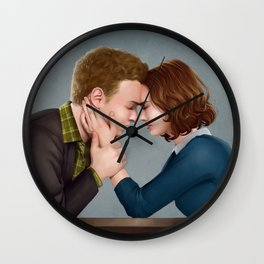 Fitzsimmons - The Forehead Touch Thing Wall Clock