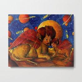 Sphinx family Metal Print