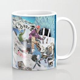 Pow pow Powder Coffee Mug